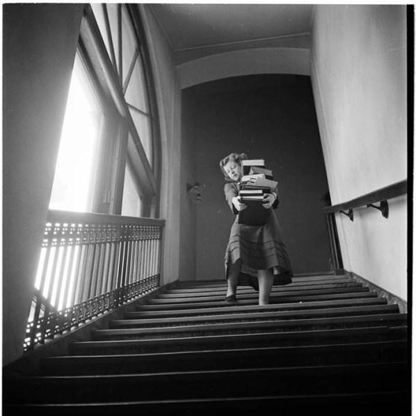 Student at Columbia University – 1948