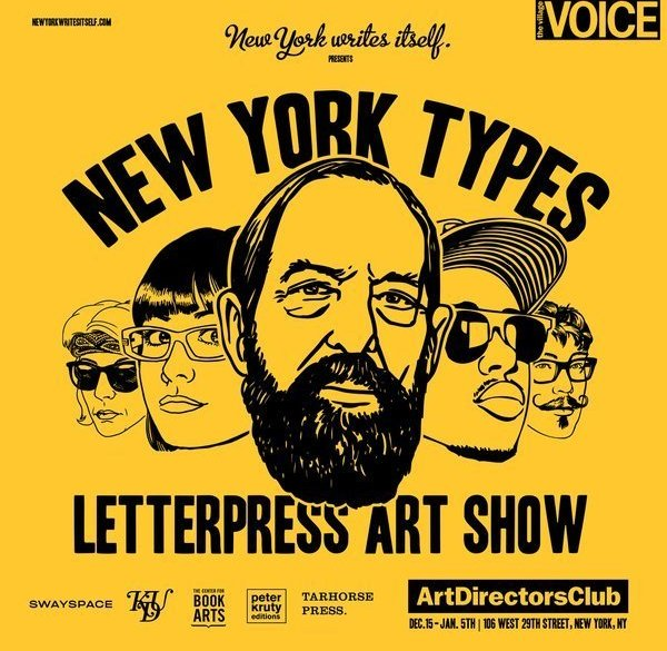 New York Types, Michael Canning e Kieran Antill su designplayground.it