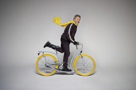 Philippe Starck: Pibal, la nuova bici urbana per Peugeot Cycles