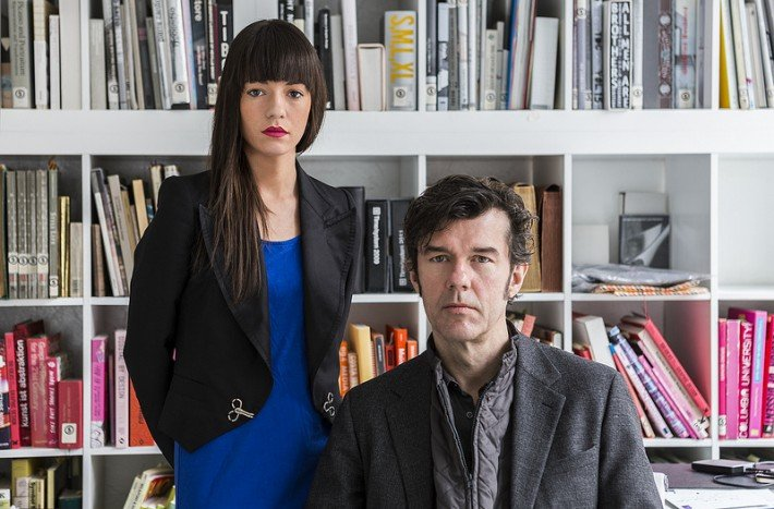 Jessica Walsh and Stefan Sagmeister by Marco Scozzaro