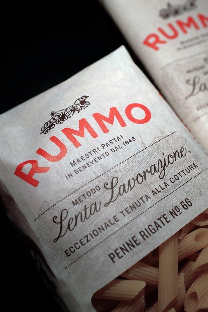 'Pasta Rummo'. Il rebranding di Irving&Co