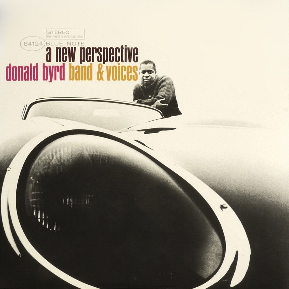 Donald Byrd, A New Perspective, 1964 - Design Reid Miles - Fotografia: Francis Wolff