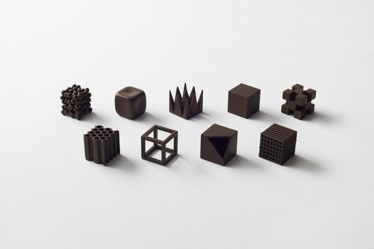 """Chocolatexture lounge"", Nendo"
