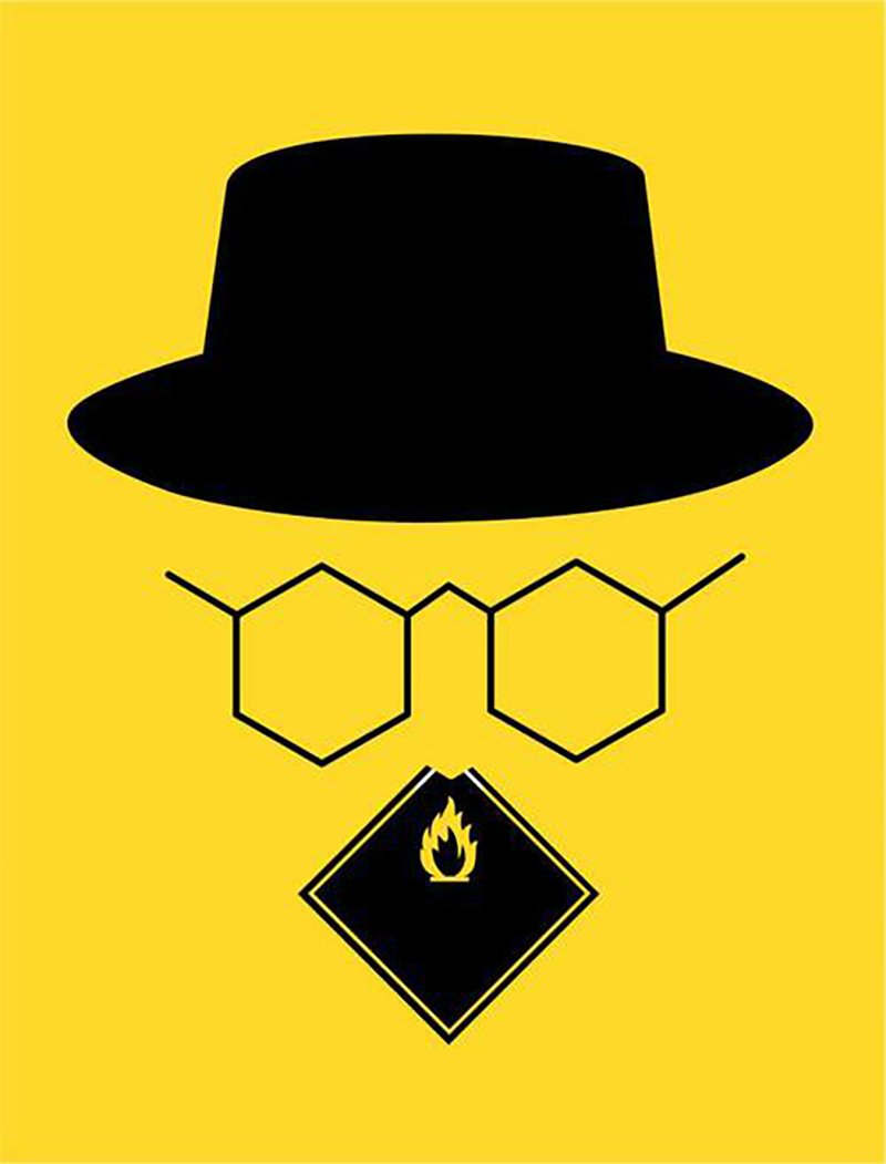 Breaking Bad by Noma Bar for Empire Magazine