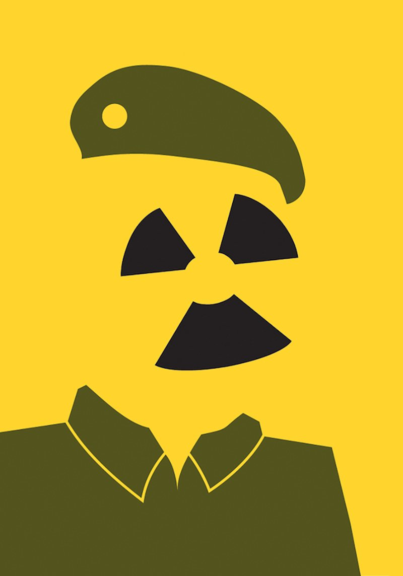 Saddam Hussein by Noma Bar