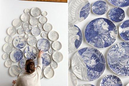 Le ceramiche di Molly Hatch
