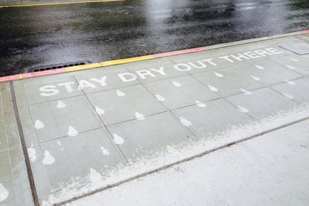 """""""Rainworks"""". L'arte dalla pioggia"""