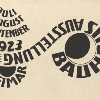 Bauhaus postcards 1923