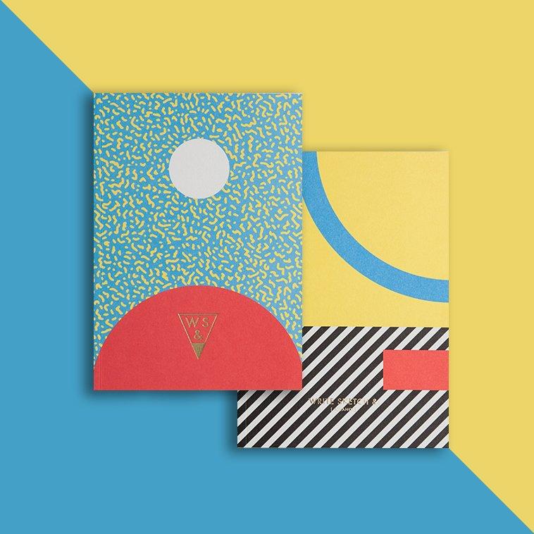 SUPER JOY Formato: A5 / Layout: pagine bianche / Pagine: 64 / Rilegatura: cucita filo refe / Carta: Fedrigoni™