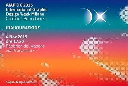 Aiap DX International Graphic Design Week 2015