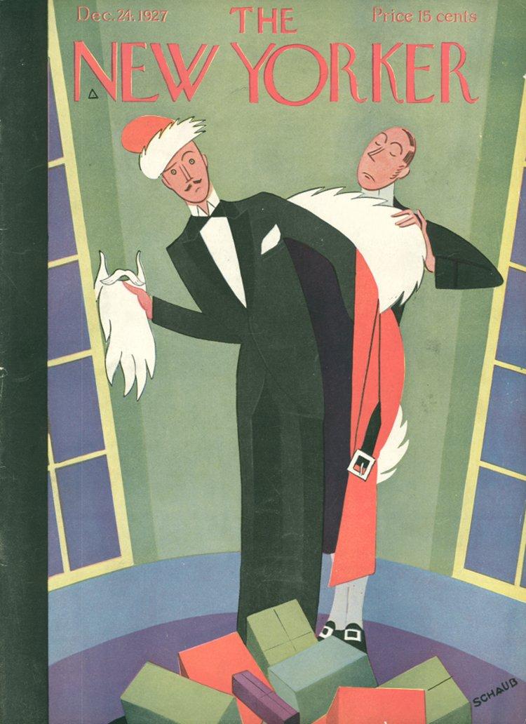 24 Dicembre 1927 : Cover art Andre De Schaub