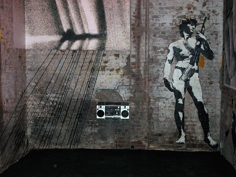 WK_Blek le Rat_David_New York_2006_©Xavier Prou_designplayground
