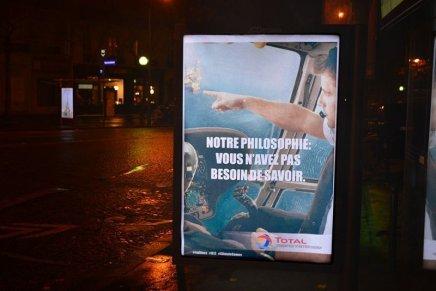 Brandalism. Guerrilla art a Parigi