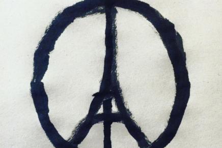 Jean Jullien #peaceforparis. La reazione viscerale a una terribile tragedia
