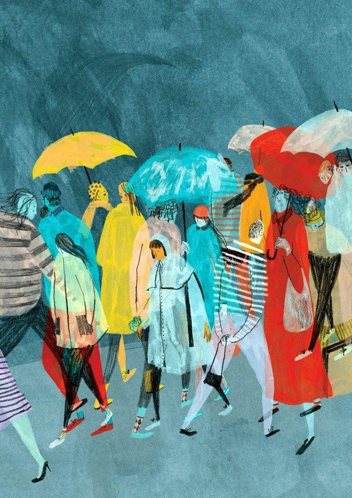 Mouni Feddag. Un tripudio di segni e colori