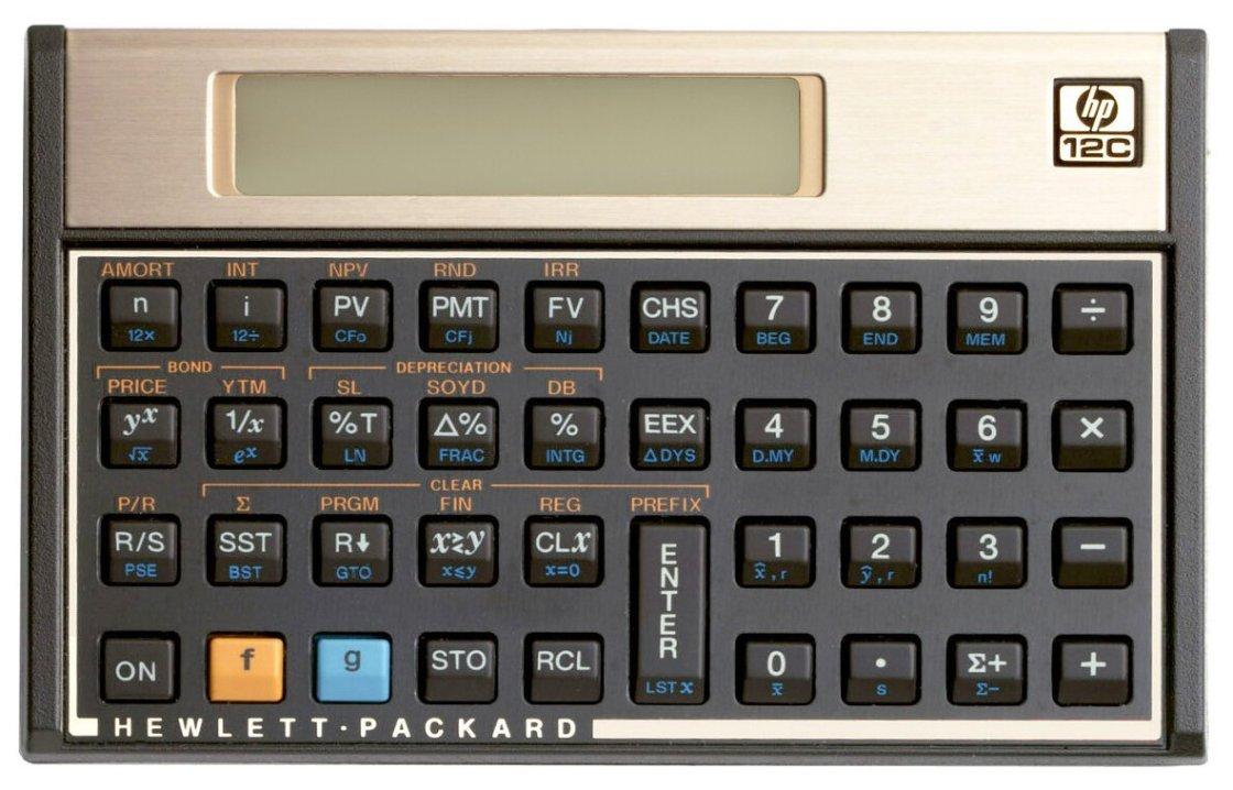 1999 - HP 12C Calculator by hp