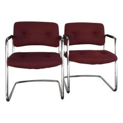 Steelcase Vintage Chair Glider Rocking Canada Chrome Design Plus Gallery