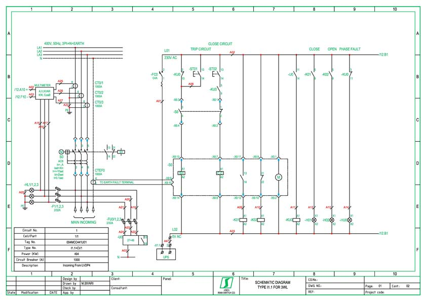 Electrical Drawing For Autocad – The Wiring Diagram – Readingrat Net