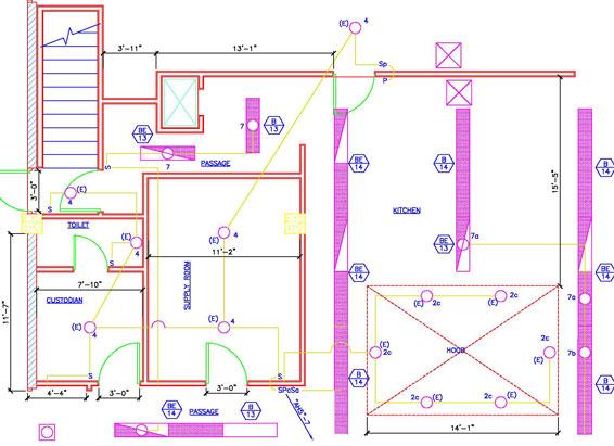 house wiring diagram symbols pdf craftsman garage door sensor electrical plans and panel layouts - design presentation