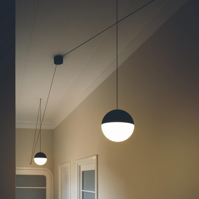 flos Lampade da soffitto String Light Sfera 22mt  Design