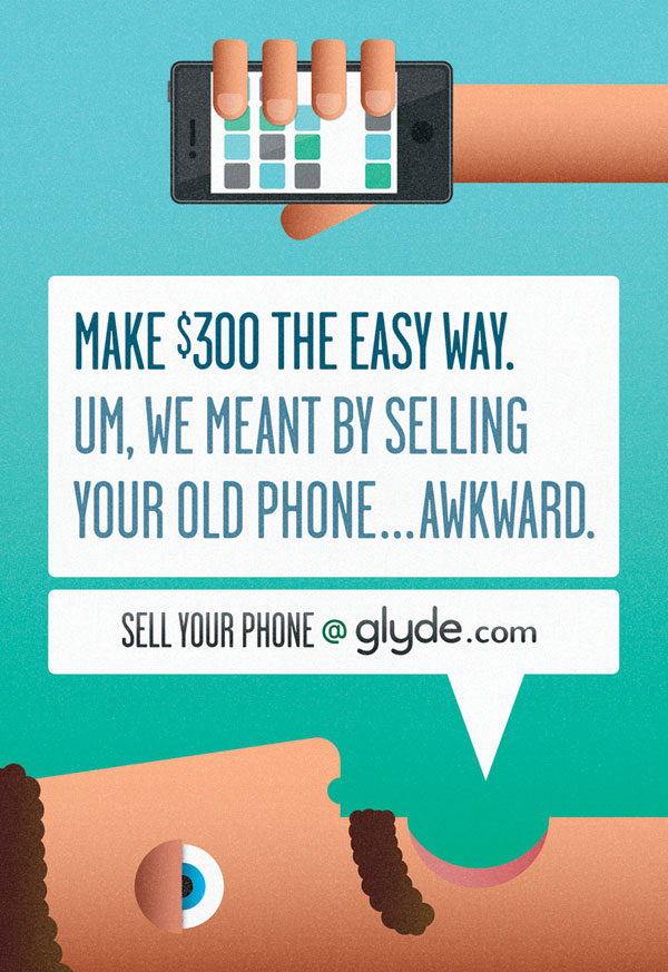 glyde Print Ad