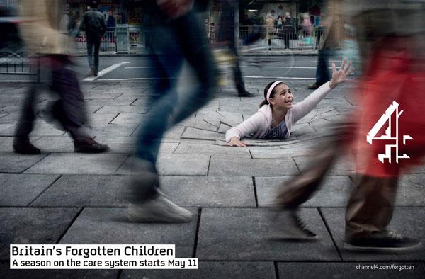 Britain's Forgotten Children Print ad