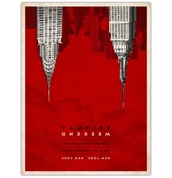 A Showcase of Creative Gig Posters 6