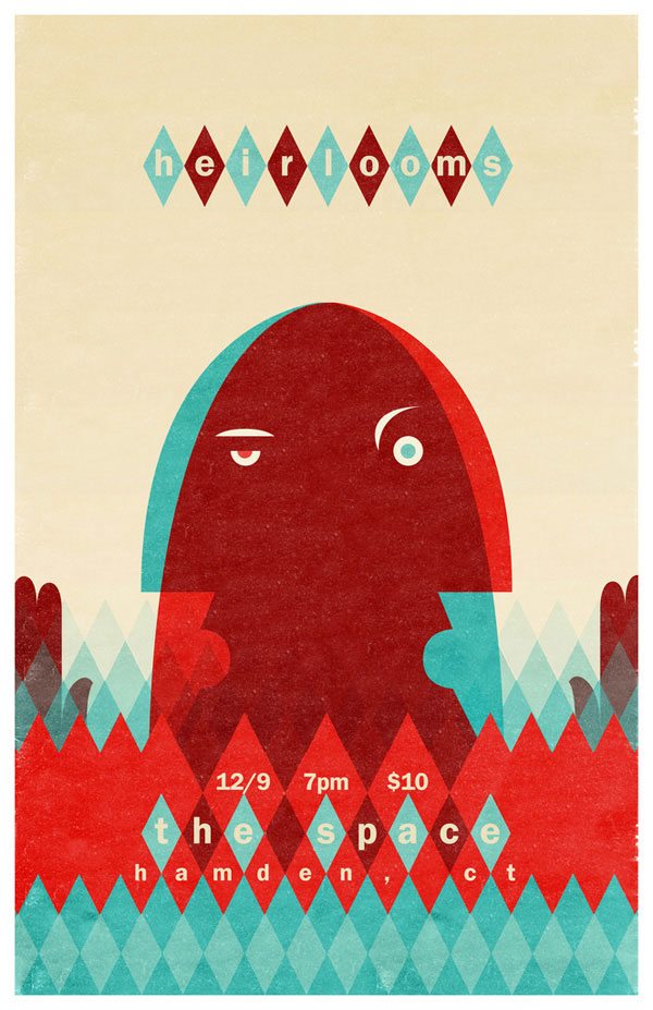A Showcase of Creative Gig Posters 13