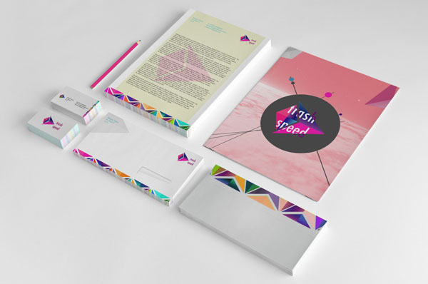 Trash Speed Print Design Inspiration