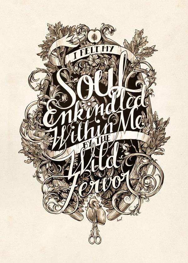 Soul Enkindled Print Design Inspiration