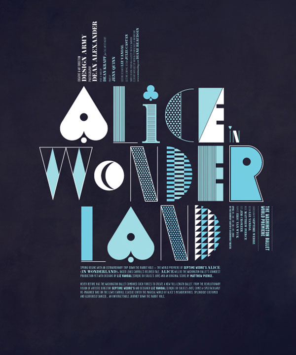 Alice in Wonderland Print Design Inspiration