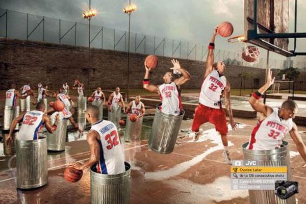 Choose Later – Up to 130 consecutive shots Print Advertisement