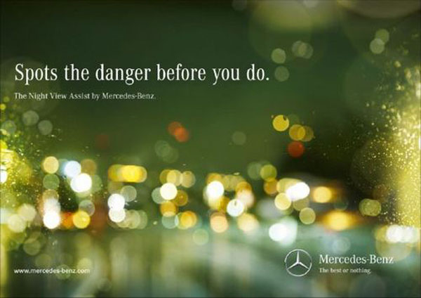 Spots the danger before you do. Print Advertisement