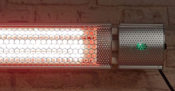 best wall mounted patio heater electric