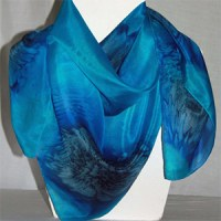 Square Silk Scarves - Designs On Silk