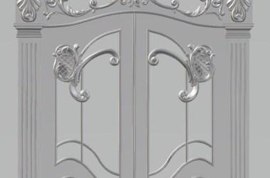 artcam wooden door design for home