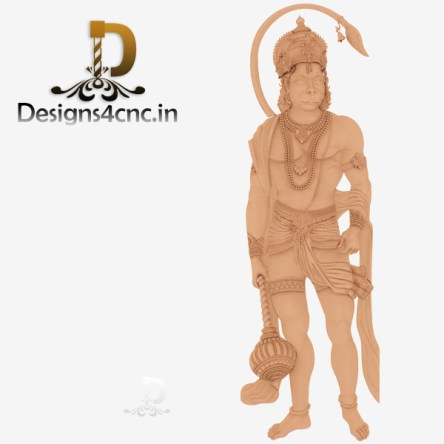 Artcam 3d images of hanuman ji file