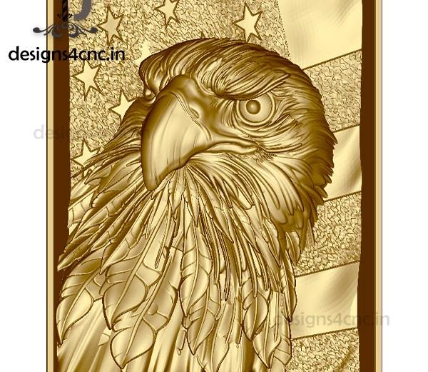 eagle 3d model FOR ARTCAM FILE FOR FREE