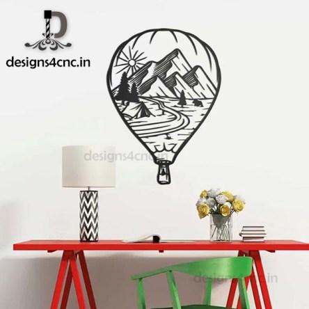 mountain vector wall decor designs