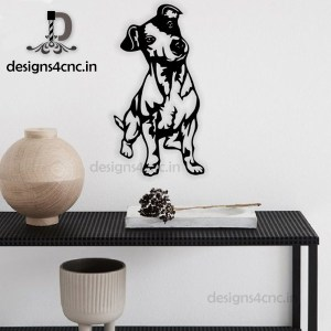 dog vector black and white