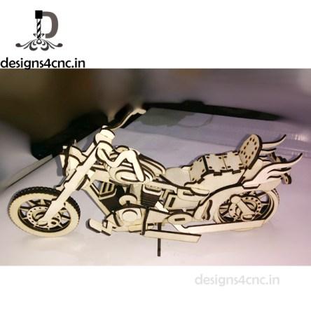 laser cutting harley devidson bike