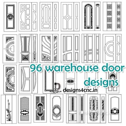 3d warehouse door design free vector