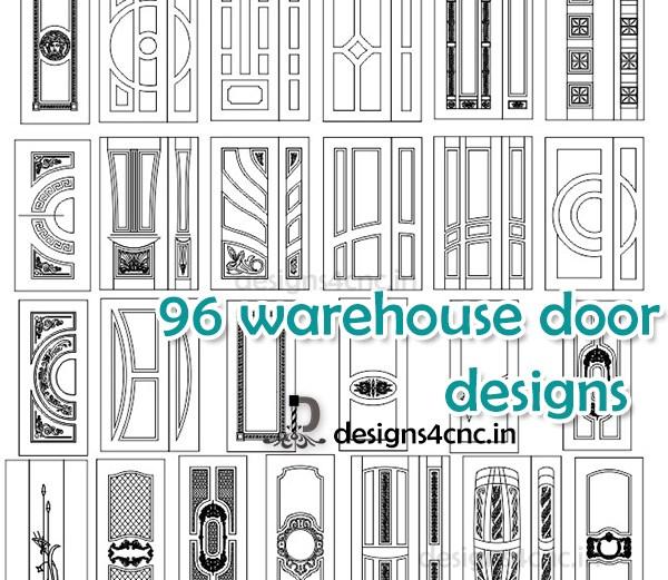 3d warehouse door