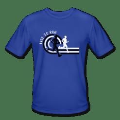 Live to Run Boys Track & Field Running T-Shirt Design