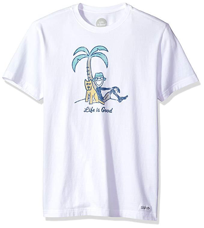 Life Is Good t-shirt print design
