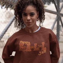 Happy Fall Yall Autumn Pumpkins T-shirt sweatshirt vector print design