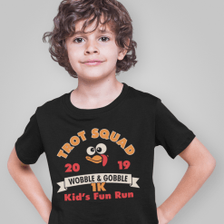 Turkey Trot Shirts Trot Squad 1K Kids Thanksgiving Turkey Trot Race Kids royalty free designs for t-shirts and screen print designs
