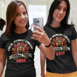 Turkey Trot T Shirts 5K Thanksgiving Race T Shirt Vector Template Free
