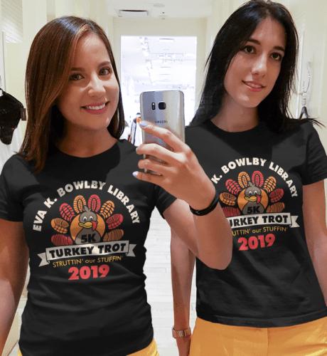 Turkey Trot T Shirts 5K Thanksgiving Race T Shirt Vector Template Free