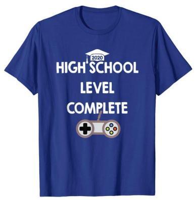 high school senior gaming t-shirt design